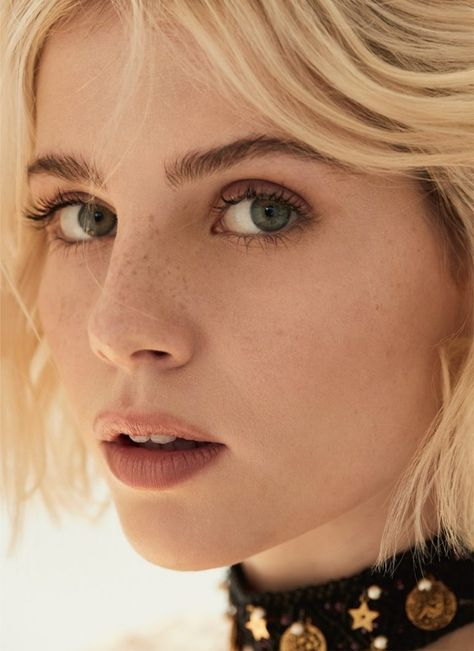 Lucy Boynton Looks Divine in Dior for Marie Claire UK Marie Claire, Aesthetic People, Aesthetic Girl, People Photography, Portrait Photography, Fashion Photography, Pretty People, Beautiful People, Beauté Blonde