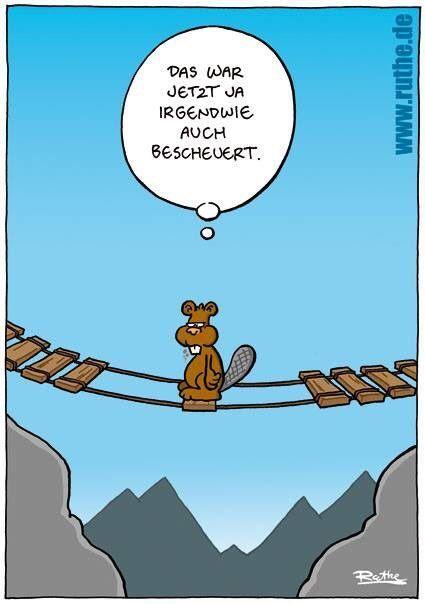 Heute ist Brückentag. | Witzig, Lustig, Witze lustig