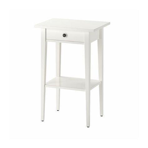 Hemnes Table De Chevet Blanc 46x35 Cm Ikea Ikea Hemnes Nightstand White Nightstand Hemnes Nightstand