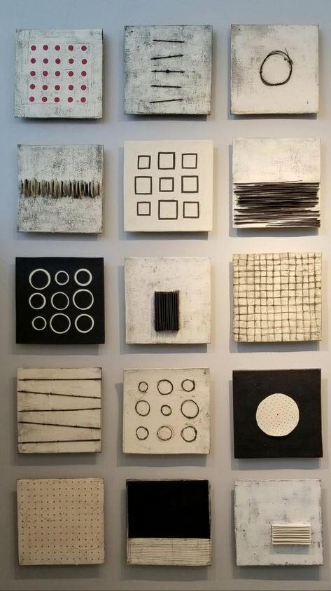 Clay::Lori Katz Ceramic Design | Ceramic Wall Art Cuadros Diy, Ceramic Wall Art, Ceramic Design, Clay Design, Encaustic Art, Wall Sculptures, Sculpture Clay, Wall Art Designs, Minimalist Art