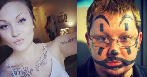 The Most Horrifying Tattoo Fails on the Internet