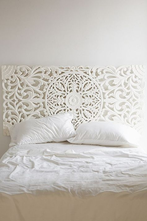 Sienna Carved Headboard | Urban Outfitters UK