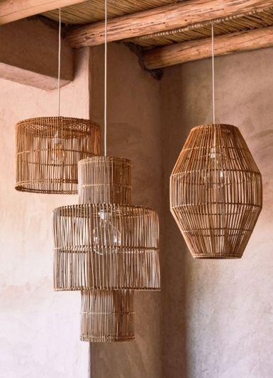 Abat-jour Rotin Pour Lampe : abat-jour, rotin, lampe, E-Shops, Where, Handmade, Decor, Items, Picker, Jour,, Rotin,, Lampes, Salon