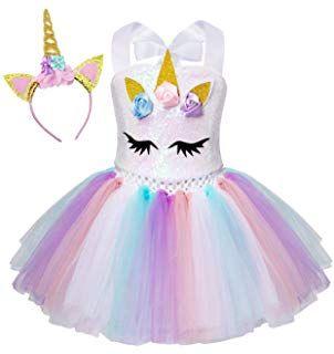 Pin De Lissette Moreno En Kids World Traje De Unicornio Vestidos De Fiesta Para Niñas Ropa De Unicornio