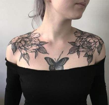 Tattoo Butterfly Chest Ink 24 Trendy Ideas Tattoos Shoulder Cap Tattoo Shoulder Tattoo