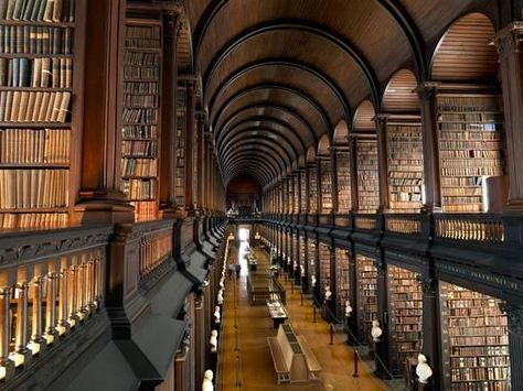 The Long Room in the Old Library at Trinity College in Dublin Photographic Print by Chris Hill at AllPosters.com