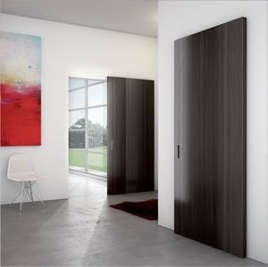 Magic 2 Wall Mount Concealed Sliding System For Wood Doors Made In Italy In 2020 Interior Barn Doors Sliding Door Hardware Sliding Door Design