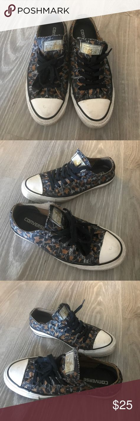 CONVERSE - limited edition leopard