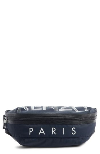 fc5ed9af KENZO LOGO WAIST PACK - BLACK. #kenzo #bags #belt bags # | Kenzo in ...