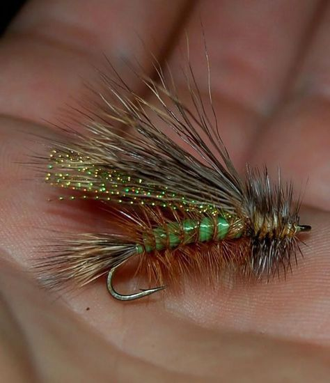 4 V Fly Size 10 Ultimate Holo Gold Hares Ear Drifter Nymph Trout Flies
