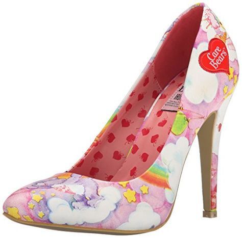 Iron Fist  Carebears Point Heel, Chaussures à talons - Avant du pieds couvert femmes - Rose - Rose, Taille 40 EU Iron Fist http://www.amazon.fr/dp/B00W586VNU/ref=cm_sw_r_pi_dp_JM6Xwb05V8VQJ