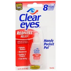 Clear Eyes Redness Relief Relieves Red Eyes As Well As Dryness Burning And Other Irritations Features Relieves Redness Due Eye Drops Clear Eyes Soothe Eyes