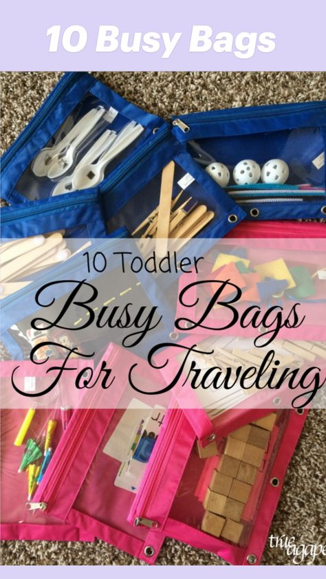10 Busy Bags