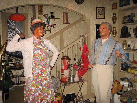Redd Foxx. Movieland Wax Museum