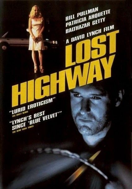Image result for lost highway poster