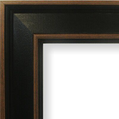 World Menagerie Mcgillicuddy 2 Wide Painted Wood Grain Picture Frame Picture Size 24 X 36 Picture Frames Picture Frame Sizes Wood Picture Frames