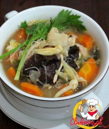 Resep Hidangan Sayuran Sup Kimlo Makanan Sehat Untuk Diet Club