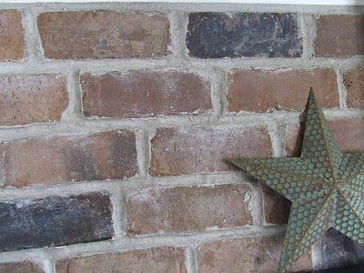 An easy way to add a brick backsplash in the kitchen DIY