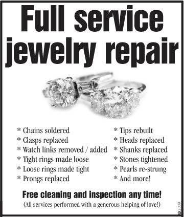 9 best Jewelry Appraisals \ Repair images on Pinterest Jewel - jewelry repair sample resume
