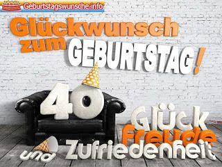 Gluckwunsche Zum 40 Geburtstag Spruche Zum 60 Geburtstag