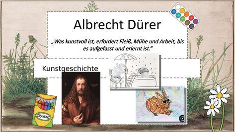 Malen Wie Albrecht Durer Unterrichtsmaterial Im Fach Kunst Albrecht Durer Unterrichtsmaterial Farben Lehre