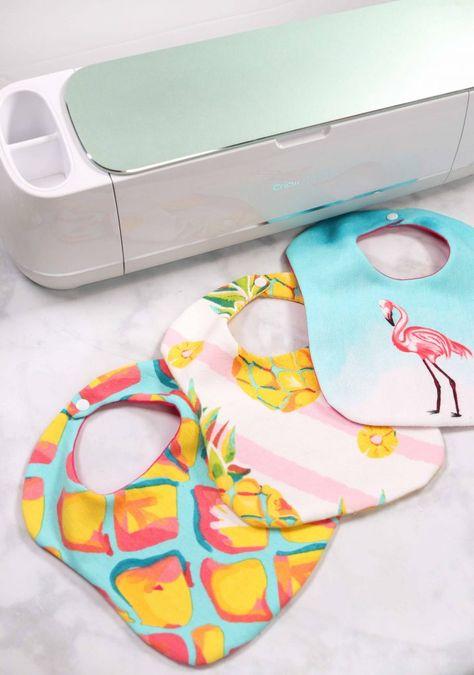 Cricut Maker Baby Bib Sewing Pattern | JOANN - Sweet Red Poppy