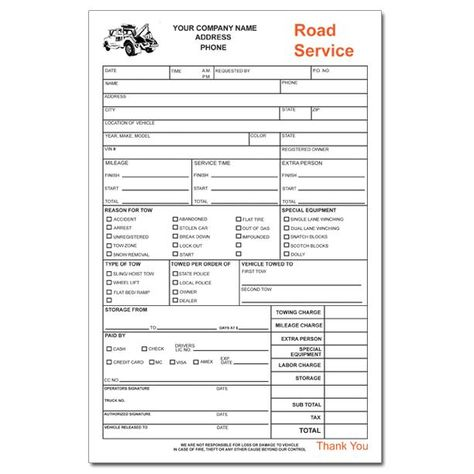 Towing Invoice Forms Towing Invoice Pinterest - debit memo templates