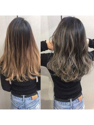 2019年春 グラデーションカラーの髪型 ヘアアレンジ 人気順