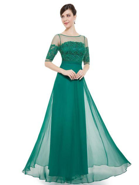 best value e29a4 d857f Abito lungo, da sera e/o cerimonia. Colore verde smeraldo ...