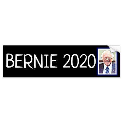 Bernie sanders 2020 presidential election support bumper sticker craft supplies diy custom design supply special