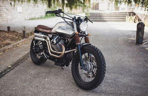 Moto Guzzi V7 Scrambler by BAAK Motocyclettes