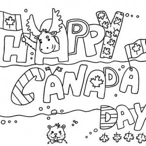 Make Use Of Canada Symbol For 2015 Day Coloring Pages