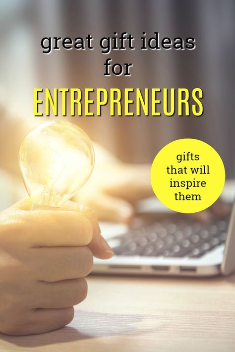 The Best Gift Ideas For An Entrepreneur