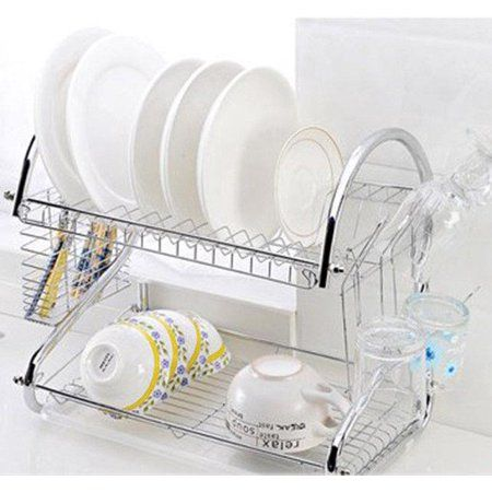 Home Dish Rack Drying Dish Racks Kitchen Dishes