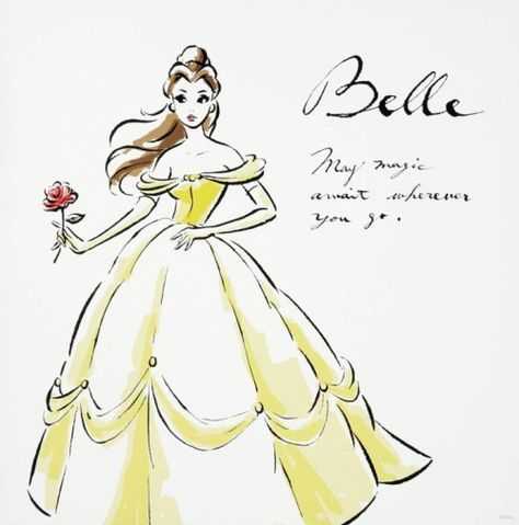 Belle- may magic await wherever you go :)