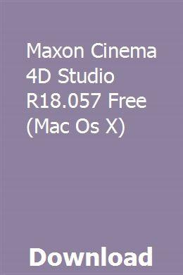 Cinema 4d software download
