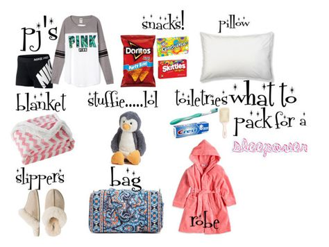 what to bring to a sleepover quot;what to pack for - sleepover Fun Sleepover Games, Things To Do At A Sleepover, Teen Sleepover, Sleepover Party, Slumber Parties, Fun Things, Sleepover Crafts, Pyjamas Party, Pajamas