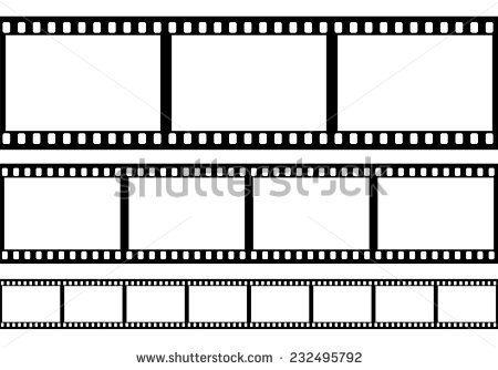 Set Of Film Frame Vector Film Strip Film Image