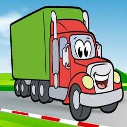 لعبة تلوين صور الشاحنات السعيدة Happy Trucks Coloring Free Mobile Games Color Play Free Online Games