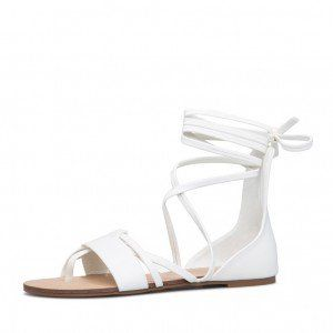 Open Toe Flats Strappy Sandals