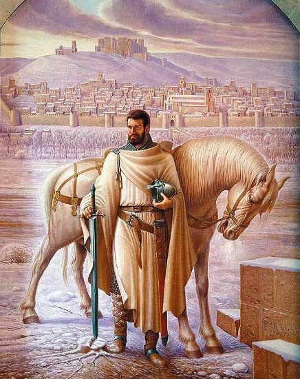 El Cid Campeador Ante La Ciudad Del Burgos Romanica De Los S Xi Y Xii De Candido Perez Palma Historia De Espana El Cid Personajes Historicos