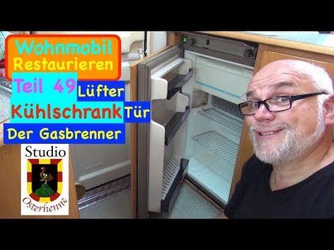 Kühlschrank Für Wohnwagen : Tür lüfter und brenner vom kühlschrank eines wohnmobil bzw