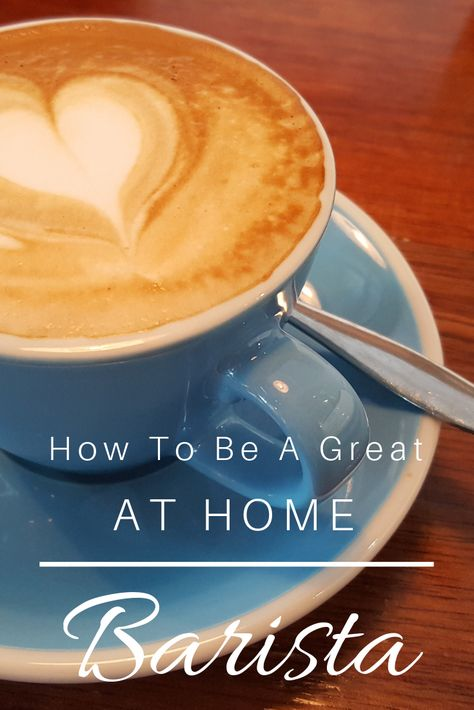 How To Be A Great At-Home Barista   Coffee kombucha ...