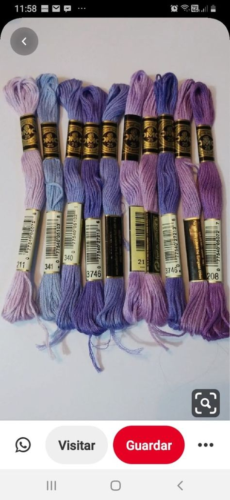 DMC 25 Mouline Special 741 Tangerine Floss 24 skeins 1 box worth no box