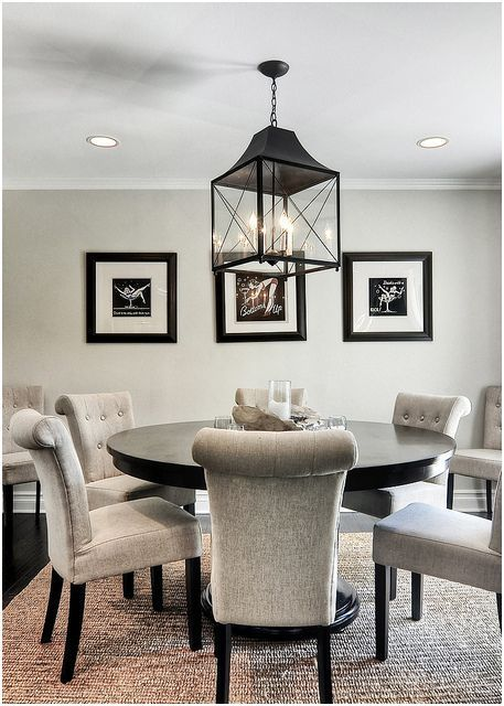 14 Middle Lighting Over Round Kitchen Table Collection Dining Room Inspiration Dining Room Design Home