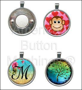 "1.0"" Button Machine * Pendant Special"