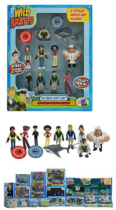 Other Action Figures 348 Wild Kratts Toys 10 Pack Action Figure Gift Set Buy It Now Only 37 99 On Ebay Ot Action Figures Kitchen Sets For Kids Gift Set