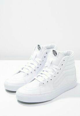 Vans white high tops##   Vans shoes