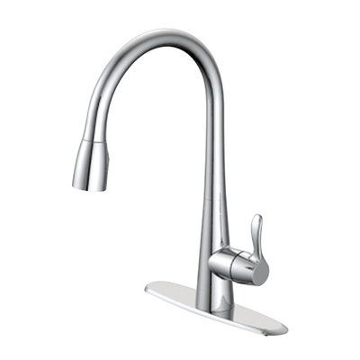 Oakbrook Collection Touch Single Handle Kitchen Faucet Bar