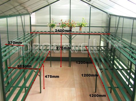 Greenhouse Shelving | For The Home | Pinterest | Shelving, Container  Gardening And Gardens